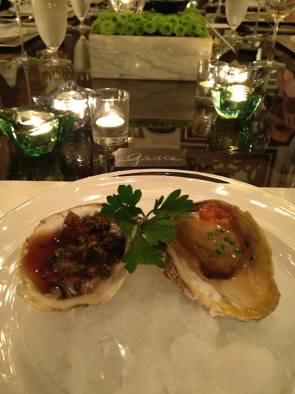 2 oysters