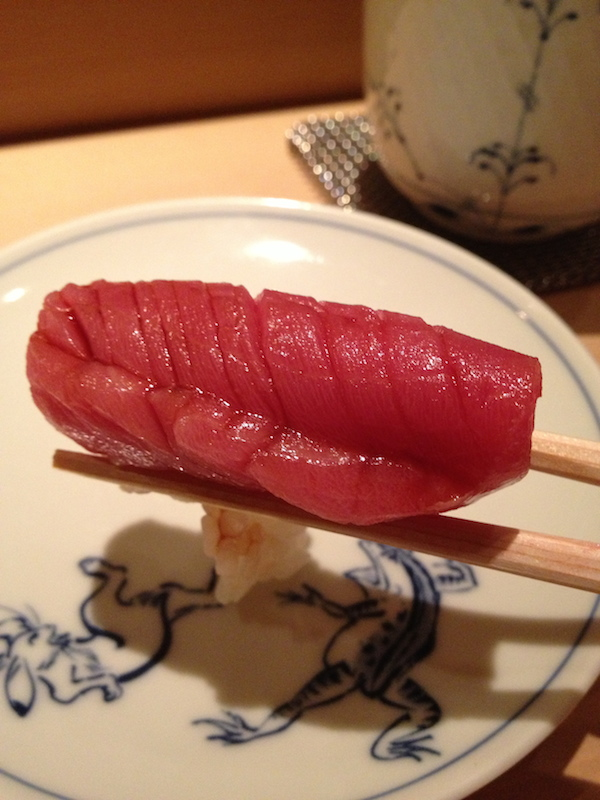 Maguro or Blue fin tuna belly
