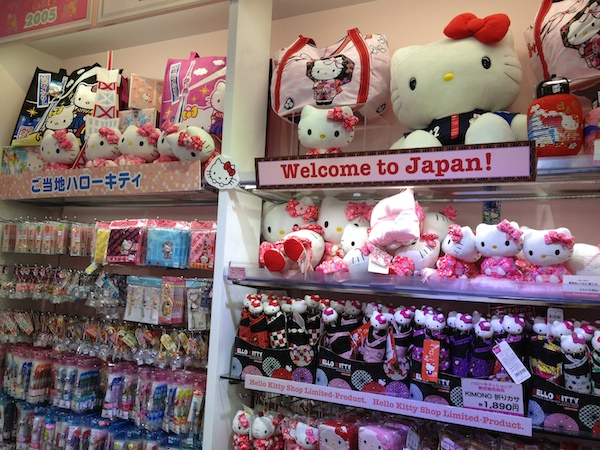 Hello Kitty is everywhere