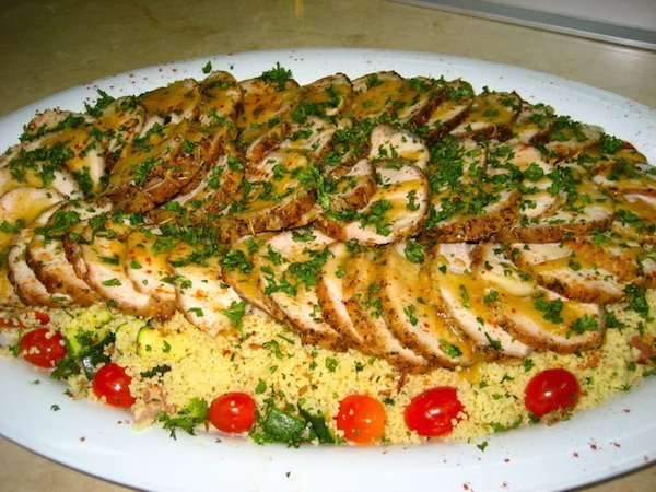 Roast Herbed Pork with Couscous 2