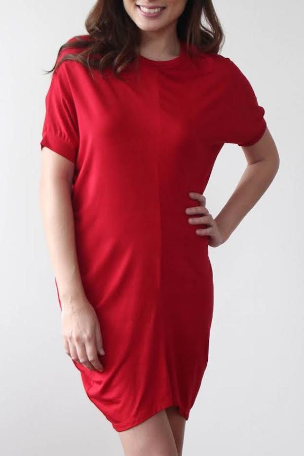 ANISE DRESS in RED
