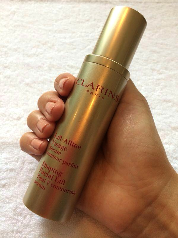 clarins bottle