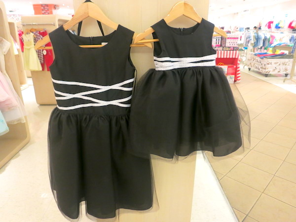 Rustanette Black and White Formal Dress