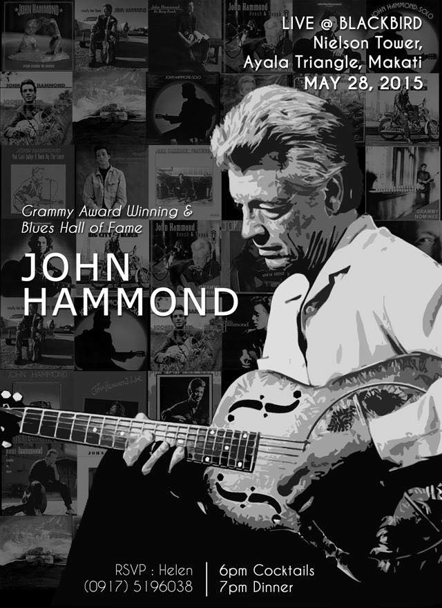 JOHN HAMMOND INVITATION