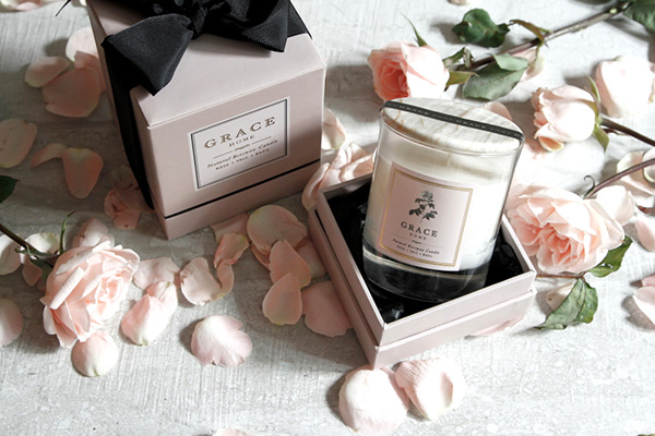Grace Home candle 1 Rose