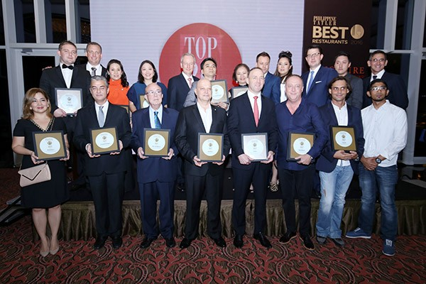 Tatler Best Restaurants 2016 Awardees