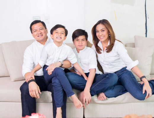 Karen Davila and Family