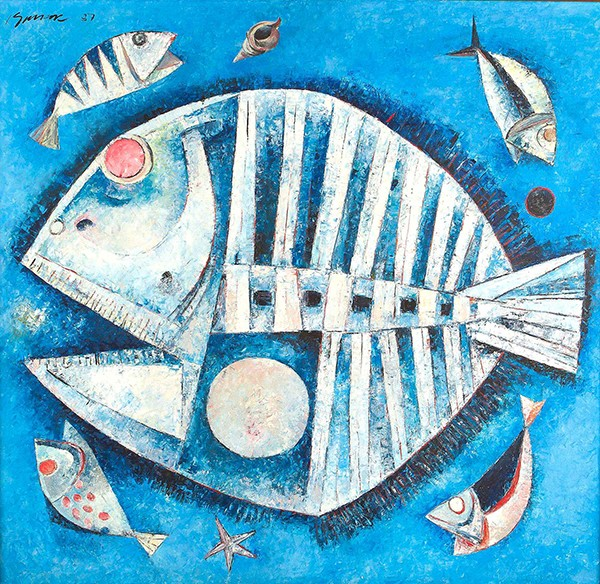 TSM Kiukok - White Fish in Blue