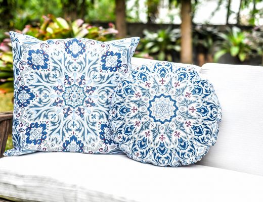Grace Home Throw Pillows Pair