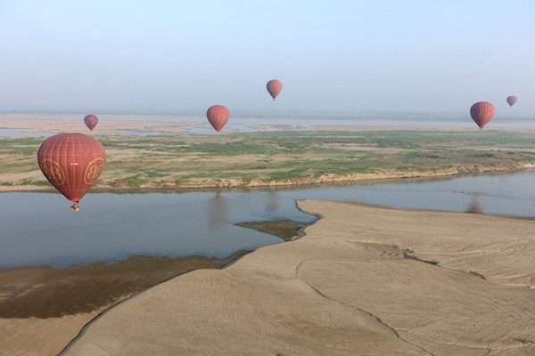 TSM Myanmar Balloon Descent 2