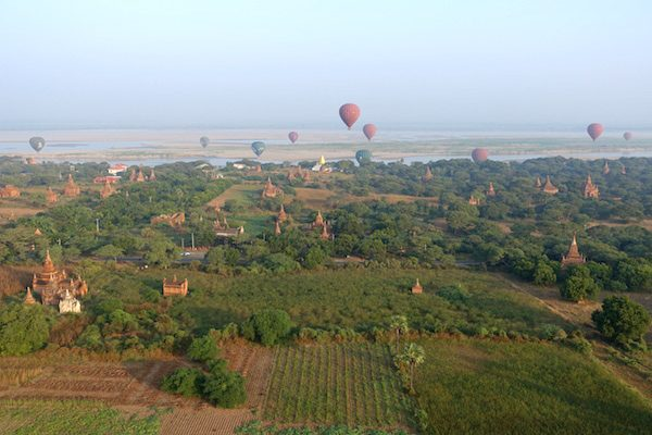 TSM Myanmar Balloon Sunrise 11