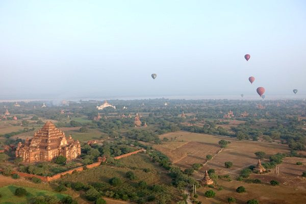 TSM Myanmar Balloon Sunrise 5