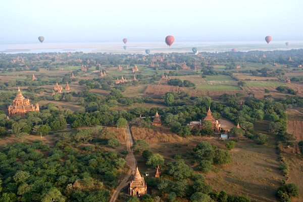 TSM Myanmar Balloon Sunrise 7