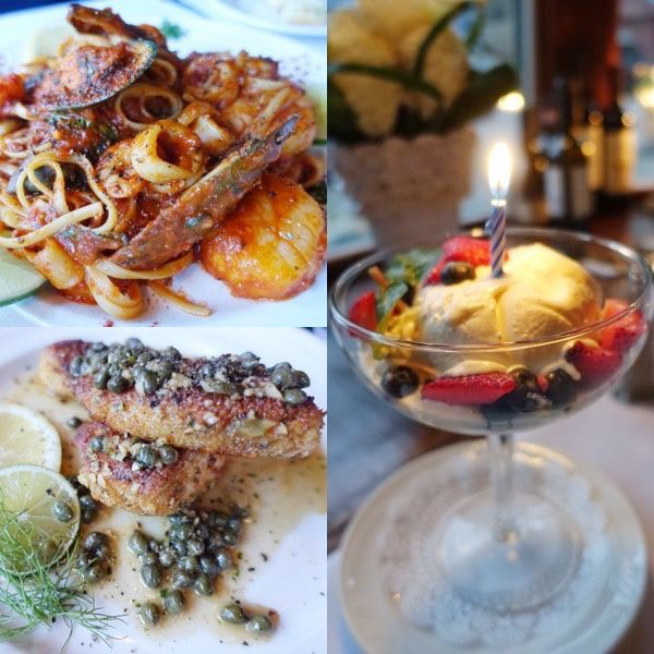 The Spoiled Mummy in Lake Tahoe, Cafe Fiore